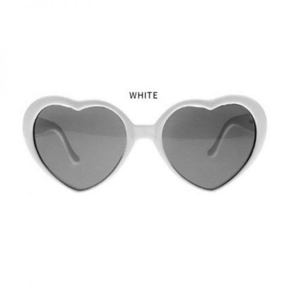 الحب نظارات في الليل أضواء على شكل قلب تصبح الحب المؤثرات الخاصة نظارات صافي الأحمر نظارات نظارات الموضة النساء دروبشيب