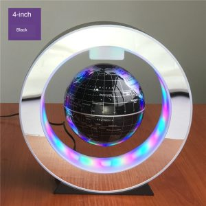 LED العائمة غلوب المغناطيسي الإرتفاع ضوء مستدير مكافحة الجاذبية كرات للأطفال 2020 هدايا عيد الميلاد خريطة العالم مصابيح هدايا فريدة