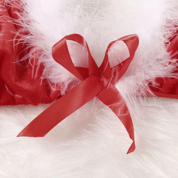 النساء ملابس نوم نسائية فستان سهرة عيد الميلاد حجم كبير الملابس الداخلية شبكة منظور إغراء النوم ملابس خاصة الملابس الداخلية c50