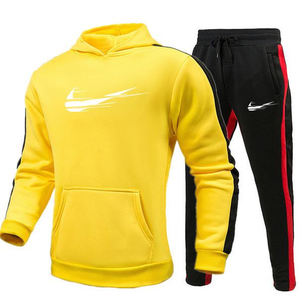 women s clothing 2 piece set Tracksuit Men hoodies pants Mens Clothing Sweatshirt Pullover mens Casual Tennis Sport designer Tracksuits set